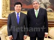 Le président de l'Assemblée de la République du Portugal reçoit le vice-PM Pham Binh Minh