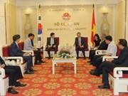 Consolider les relations entre le Vietnam et la R. de Corée