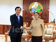 Le nouveau siège de l'AN laotienne, symbole de la solidarité spéciale Vietnam-Laos