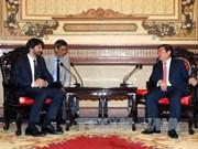 Ho Chi Minh-Ville reçoit le vice-Premier ministre slovaque Robert Kalinak