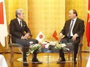 Le PM rencontre des entreprises japonaises