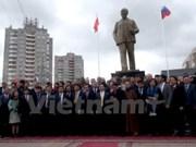 Inauguration de la statue du Président Ho Chi Minh dans la ville d'Oulianov en Russie
