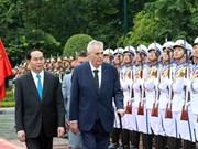 Déclaration commune Vietnam-République tchèque
