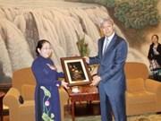 Une délégation de Hô Chi Minh-Ville en tournée de travail en Chine