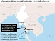 Crash d'avion au Myanmar : 29 corps repêchés en mer