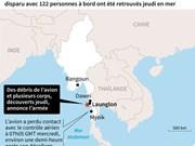 Crash d'avion au Myanmar : la moitié des corps ont été retrouvés