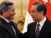Singapour et la Chine veulent accélérer les négociations sur le RCEP
