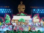 Commémoration du premier retour du Président Ho Chi Minh à Nghe An