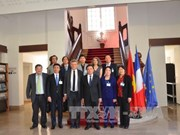 Une délégation de l'Académie nationale de politique Ho Chi Minh en France