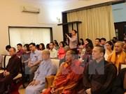 Création de l'Association des Vietnamiens en Inde et au Népal