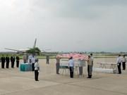 Des restes de soldats américains portés disparus au Vietnam rapatriés
