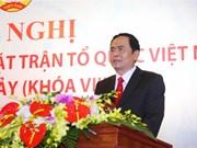 Tran Thanh Man devient président du CC du Front de la Patrie du Vietnam