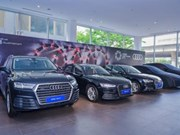 Audi lance des services mobiles pour l'APEC 2017