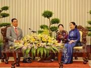 Hô Chi Minh-Ville promeut le travail du Front avec le Cambodge