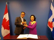 Hanoï : renforcement de la coopération intégrale avec le Canada et les États-Unis
