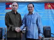 Echange d'amitié Vietnam-Laos à Singapour