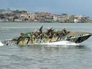 Philippines et Malaisie effectuent des patrouilles en mer pour lutter contre le terrorisme