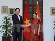 Le vice-Premier ministre Pham Binh Minh en visite officielle en Inde