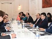 Le PM Nguyen Xuan Phuc poursuit ses activités aux Pays-Bas
