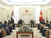 Promotion de la coopération Vietnam-Soudan dans la défense