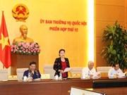 Comité permanent de l'AN : avis sur les préparatifs pour la 4ème session de sa 14ème législature