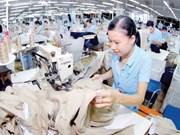 Hausse des exportations textiles au 1er semestre