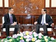 Le chef de l'Etat rencontre les ambassadeurs de Finlande et de Grèce