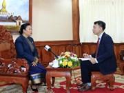 Les relations Vietnam-Laos ne cessent de se développer