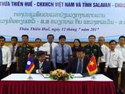 Les localités vietnamiennes et laotiennes construisent une frontière pacifique