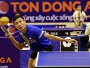 """Ouverture du tournoi international de ping-pong """"Raquette d'or""""  à Hô Chi Minh-Ville"""