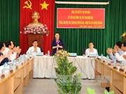 La présidente de l'AN en visite au district de Con Dao, province de Ba Ria-Vung Tau