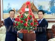 Félicitations aux dirigeants du Parti, de l'Etat, du gouvernement et de l'AN du Laos