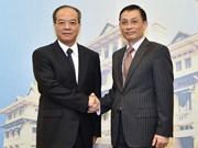 Vers une coopération efficace entre le Vietnam et le Guangdong