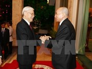 Le secrétaire général du PCV en visite au Cambodge