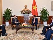 Le vice-PM Pham Binh Minh reçoit l'ambassadeur de la R. tchèque