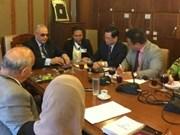 Vietnam et Égypte partagent des expériences dans la législation