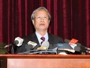 PCV : Tran Quoc Vuong est désigné membre permanent du secrétariat