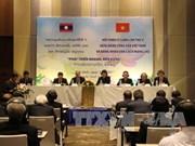 Clôture du colloque théorique entre le PCV et le Parti populaire révolutionnaire du Laos