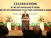 Cérémonie des 50 ans de la fondation de l'ASEAN à Hanoi