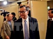 La cour cambodgienne maintient la sentence contre Sam Rainsy