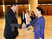 Le président du Conseil législatif national de Thaïlande termine sa visite au Vietnam