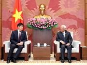 Le secrétaire général de l'Assemblée nationale mongole au Vietnam