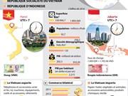 Le partenariat stratégique Vietnam - Indonésie en infographie