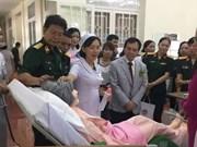 Assistance japonaise pour la formation aux soins infirmiers
