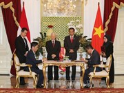 Vietnam et Indonésie signent plusieurs documents de coopération