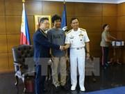 Le marin vietnamien sauvé aux Philippines regagnera bientôt le pays