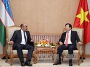 Echange d'amitié Vietnam – Ouzbékistan à Hanoï