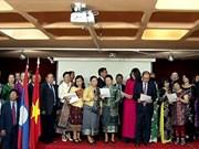 Echange d'amitié Vietnam-Laos en France