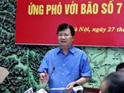 Le Vietnam se prépare à l'arrivée du typhon Pakhar