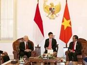 Visite officielle du secrétaire général du PCV en Indonésie